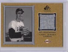!!!     GAYLORD PERRY  SP  BASEBALL GAME USED JERSEY CARD $$