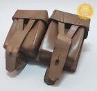 Внешний вид - Mosin Nagant Rare Ammo Double Pouch Dated Leather Original Soviet Russian German