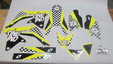 Suzuki RMZ450 2008-2016 One Industries Checkers graphics kit 1G42
