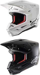 Alpinestars SM5 Solid Helmet - Motocross Dirtbike Offroad Adult
