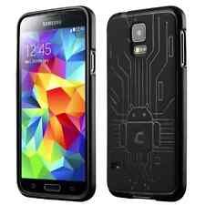 Cruzerlite Bugdroid Circuit TPU Case Samsung Galaxy S5 Black Phone Accesories .