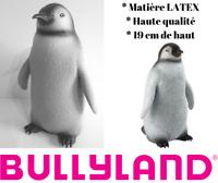 Pingouin Bébé Figurine en Latex Peinte à la Main de 19 cm Animal Bullyland 63838