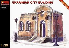 Miniart 1:35 Ukrainian City Building Model Kit
