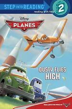 NEW BOOK ~ DISNEY PLANES ~ READY TO READ LEVEL 2 ~ DUSTY FLIES HIGH
