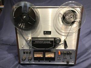 Pioneer RT-1011L Reel to Reel STEREO Tape Deck 3-Motor 3-Head All Functions Good