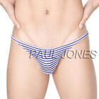 Sexy Men's 95%Cotton Brief Underwear Men's Bikini Thong Undies Size S M L XL