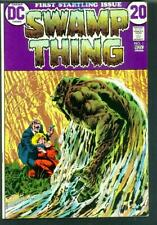 (1972) Swamp Thing #1 FN (Qualified)
