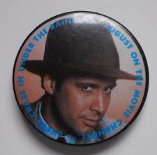 """Vintage Pinback Button CHEVY CHASE in UNDER THE RAINBOW 1.5"""" Movie Channel TV"""