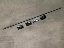 "Street Rod Mustang II Manual Rack 36"" Steering Shaft Kit + U Joints & Heim Combo"