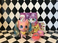 Hairdorables Pets Series 1 LUCKY LEMON cat Pink Rooted Hair New Complete