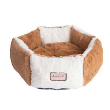 Armarkat Pet Bed Model C02nzs/Mb Earth Brown And Ivory