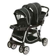 Graco Ready2Grow LX Stand & Ride Duo Double Baby Stroller | Gotham (Open Box)