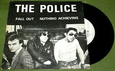 """THE POLICE Fall Out ORIGINAL UK ILLEGAL 1977 PIC COVER 45"""""""