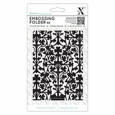 Xcut A6 Scrapbook Craft Embossing Folder - Clover Leaves (105x148mm)