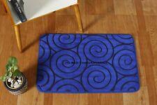 Velvet Non-slip Rug Door Mat Kitchen Bathroom Kitchen Floor Mat Pad Carpet Solid