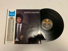 Enrico Macias Record lp original vinyl album Japan France