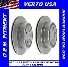 Rear Brake Rotors for Chevy Equinox,Pontiac Torrent , Saturn Vue , Suzuki XL-7