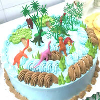 16X/ Set DIY Cake Topper Jungle Dinosaure Ornements Gâteau Cuisson Décor Enfants