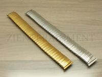 12 14 16 18 20 MM Stretch Expansion Stainless Steel Watch Band Strap Bracelet