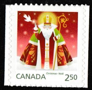 Canada 2800 Christmas Santa single (1 stamp) MNH 2014
