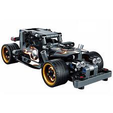Decool 3417 Getaway Racer Pullback Motor Quad Bike Car Model building block Toys