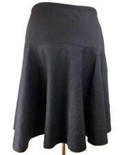 Marc Jacobs Full Flare Skirt 6 S Navy Blue Below Knee Wool Blend Work Career