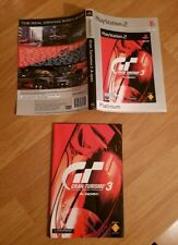 Gran Turismo 3 Ps2 Playstation 2 Manual & Insert Only