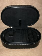 The Limited  Black Leather  Jewelry Case     NEW