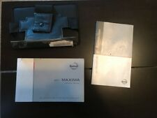 2011 Nissan Maxima Owners Manual With Case OEM Free Shipping
