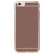 "Apple iPhone 6 6S 4.7"" Baseus PC Hard Case Glory Series Grid Plating Rose Gold"
