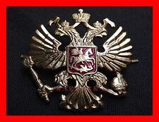 ☆ Doppelkopf-Adler Abzeichen Kokarde für Russische Armee Offizier Schirmmütze ☆
