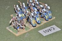 25mm roman era / roman - late 24 infantry figs - inf (10047)