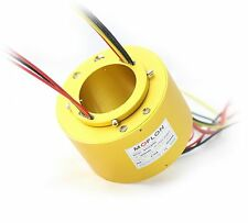 MT70158 SLIP RINGS WITH BORE SIZE 70mm,12 wires/10A each,MOFLON slip ring