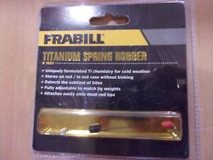 FRABILL TITANIUM spring bobber   #1683  NIP