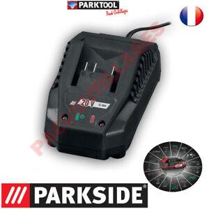 PARKSIDE® Chargeur 20V - X 20 V TEAM Pour tous les outils de la serie !!