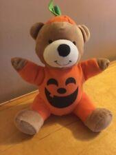 vintage hallmark pumpkin bear Plush T2