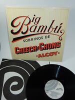 """Ode Records 1972 Cheech & Chong Big Bambu 12"""" Vinyl LP w/Rolling Paper Insert"""