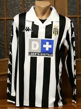 Juventus 1999/00 Serie A Long Sleeve Home Football Shirt