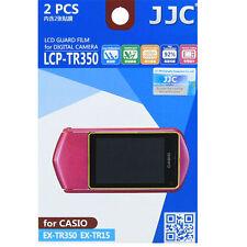 JJC LCP-TR350 harte Polycarbonat LCD Guard Folie Schutzfolie Casio EX-TR15