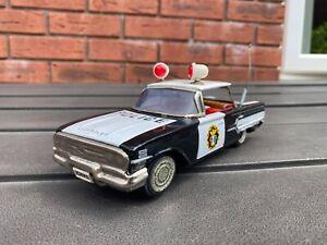 Ichiko Japan Chevrolet Impala Police Car - Excellent Vintage Original Model Rare