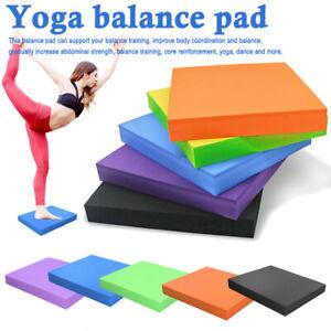 TPE Foam Balance Pad Yoga Exercise Mat Non-slip Fitness Stability Training AU
