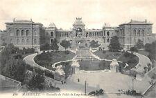 Marseille - ensemble du palais longchamp
