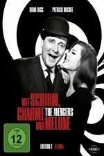 MIT SCHIRM CHARME UND MELONE - 8 DVD Set - Edition 1 - THE AVENGERS - Diana Rigg