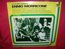 ENNIO MORRICONE La Colonne Sonore LP 1977 MINT- ITALY Metti una sera a cena