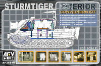 AFV CLUB 1/35 German Sturmtiger Interior Conversion Resin