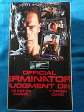 Terminator 2 Judgement Day Trading Card Box - Factory sealed