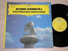 LUDWIG VAN BETHOVEN (HERBERT VON KARAJAN) - SYMPHONIE Nr. 5 - LP 33 GIRI FRANCE