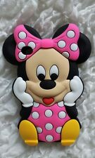 Silicone Cover per cellulari MINNIE1 PINK para IPOD TOUCH 4