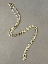 """24"""" Silver Plate Oval Link Chain Jewelry Necklace w/ Lobster Clasp"""