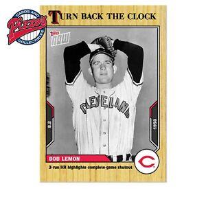Bob Lemon  - 2021 MLB TOPPS NOW Turn Back The Clock - Card 124 Presale